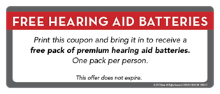 Free Hearing Aid Batteries